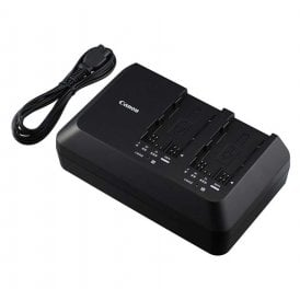 CG-A10 Dual Battery Charger for EOS C300 Mark II Camcorder Batteries