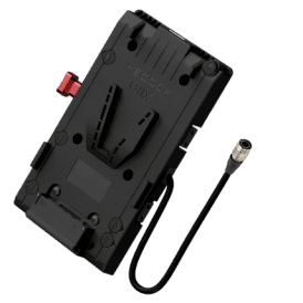 V-Mount Battery Plate with 3x D-Tap 1x USB 1x 50cm 4-pin HR-10-7P-4P cable