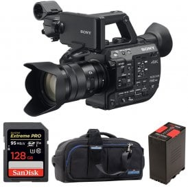 PXW-FS5M2K Super 35 Handheld Camcorder with 18-105mm E-Mount Lens package b
