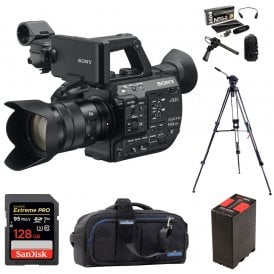 PXW-FS5M2K Super 35 Handheld Camcorder with 18-105mm E-Mount Lens package d