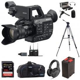 PXW-FS5M2K Super 35 Handheld Camcorder with 18-105mm E-Mount Lens package e