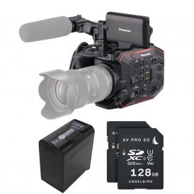 AU-EVA1 Compact 5.7K Super 35mm Cinema Camera package B