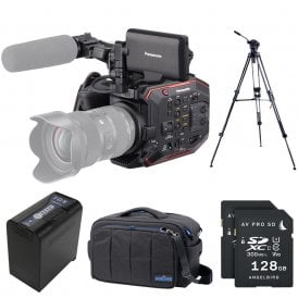 AU-EVA1 Compact 5.7K Super 35mm Cinema Camera package d