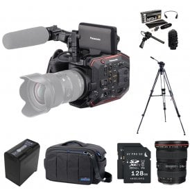 AU-EVA1 Compact 5.7K Super 35mm Cinema Camera package G