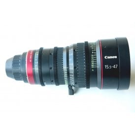 Canon CN-E 15.5-47 mm T 2.8 L SP, PL Mount Lens, Metric Scale, Ex Demo