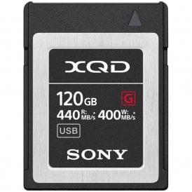 XQD G-Series 120GB 400MB/s Read/ Write Memory Card