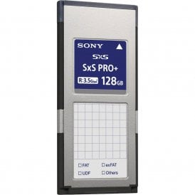 Sony SBP-128E SxS Pro+ 128GB Read 3.5GB/s Write 2.8GB/s Memory Card