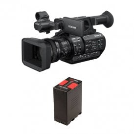 Sony PXW-Z280 4K Handheld Camcorder package a