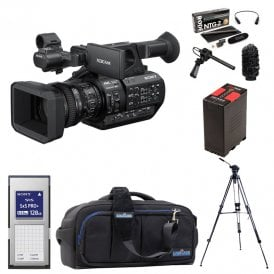 Sony PXW-Z280 4K Handheld Camcorder package e