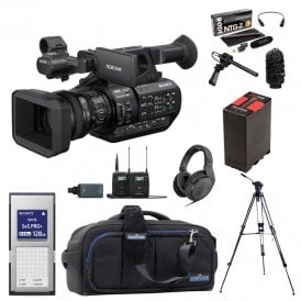 Sony PXW-Z280 4K Handheld Camcorder package f