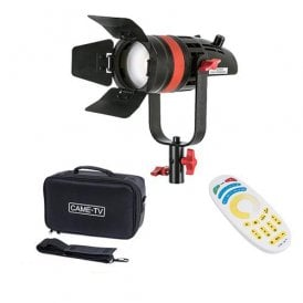 Fresnel Focusable LED Bi-Color With Bag