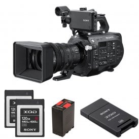PXW-FS7M2K 4K XDCAM Super 35mm Camcorder with 18-110mm Lens package a