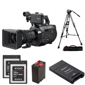 PXW-FS7M2K 4K XDCAM Super 35mm Camcorder with 18-110mm Lens package b