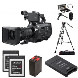 PXW-FS7M2K 4K XDCAM Super 35mm Camcorder with 18-110mm Lens package c