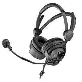 HMDC 26-II-600 Broadcast Headset with NoiseGard™ and dynamic microphone