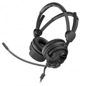 HME 26-II-100(4)P48 Double-Sided Broadcast Headset with Cardioid Mic