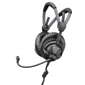 HME 27 Broadcast Headset with Pre-Polarized Condenser Microphone