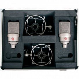 TLM 103 stereo set Large-Diaphragm Condenser Microphone (Set Nickel)