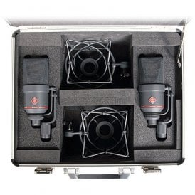 TLM 170 R mt stereo set Multi-Pattern Large-Diaphragm Studio Condenser Microphone (Black)