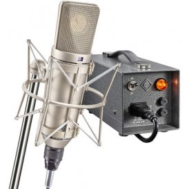 u 67 Set Large-Diaphragm Tube Condenser Microphone