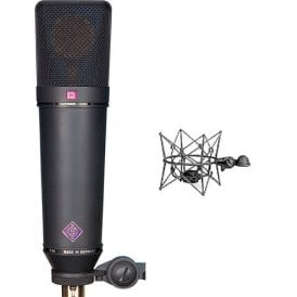 U 87 Ai mt studio set Condenser Microphone (Black)