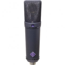 U 89 i mt Large Diaphragm Condenser Microphone (Black)