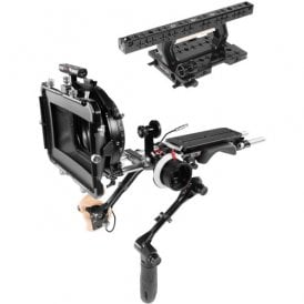 Shoulder Baseplate, Top Handgrip, Top Plate Remote Trigger, Matte Box & Follow Focus for Sony Venice