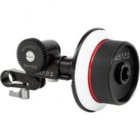 Follow Focus Kit with Single 15mm Rod Clamp