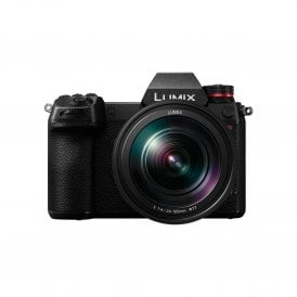 Lumix S1R 47.3MP 4K 60P Full Frame Mirrorless Compact System Camera and 24-105mm Lens Kit - L Mount