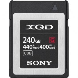 XQD G-Series 240GB 400MB/s Read/ Write