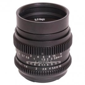 50mm F1.1 CINE Lens - Sony E / FE Mount (Full Frame)