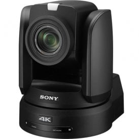 4K PTZ Camera with 1in Exmor R CMOS Sensor and 12x Optical Zoom with AC Adapter