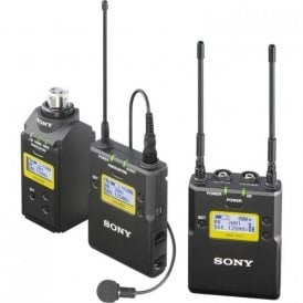 Belt pack UWP D Wireless Microphone System with XLR Plug-On Transmitter