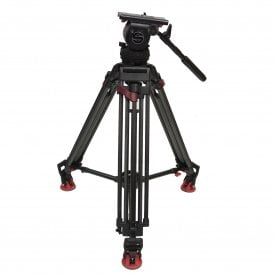 Sachtler Video 18p tripod with ENG speed lock legs used