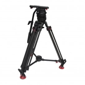 Sachtler Video 18S1 tripod with ENG speed lock legs, used