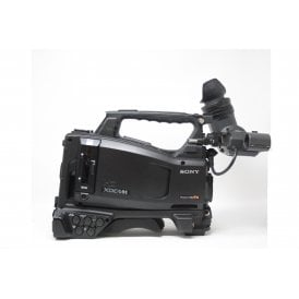 Sony PMW-500 camcorder with HDVF-20A Viewfinder, 1310 hrs, used