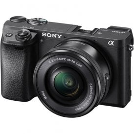 Alpha a6300 Mirrorless Digital Camera with 16-50mm Lens (Black)