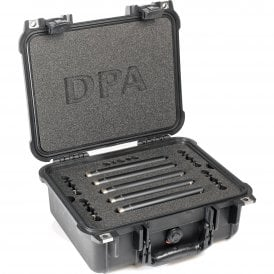 Surround Kit with 5 x 4006A Clips Windscreens in Peli Case