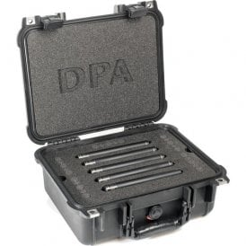 Surround Kit with 5 x 4015A Clips Windscreens in Peli Case