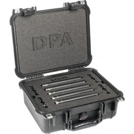 Surround Kit with 3 x 4006A 2 x 4011A Clips Windscreens in Peli Case