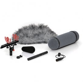 4017B-R Shotgun Microphone with Rycote Windshield