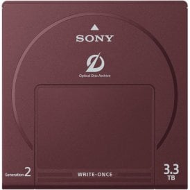 3.3TB Write-Once Optical Disc Cartridge