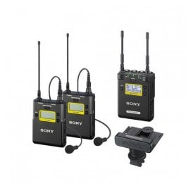 Dual-Channel UWP-D Receiver and Transmitter Pro Kit