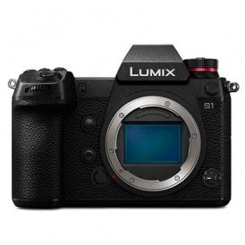 Lumix S1 Digital Mirrorless Camera with 24.2MP MOS Full Frame - Body Only