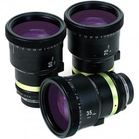 Anamorphic CINE 1.33x 3 Lens Set - PL with PL-EF Adapter
