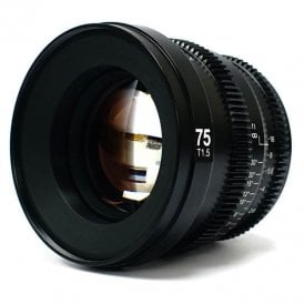 Microprime 75mm T1.5 Cine Lens - X Mount