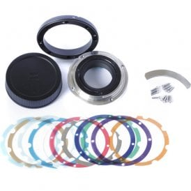 Interchangeable Lens Mount for CP.3 15mm T2.9, 50/85mm T2.1 (Nikon F)