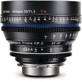 Compact Prime CP.2 35mm/T1.5 Super Speed EF Mount Lens
