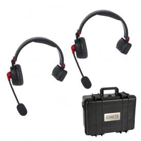 WAERO Duplex Digital Wireless Foldable Headset with Hardcase 2 Pack