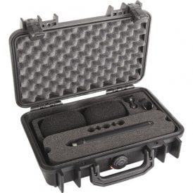 d:dicate 4007A Stereo Pair with Clips and Windscreens in Peli Case